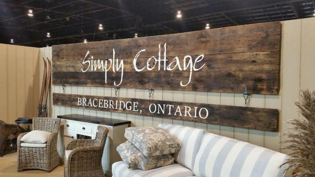 Custom Barn Board Sign for Simply Cottage