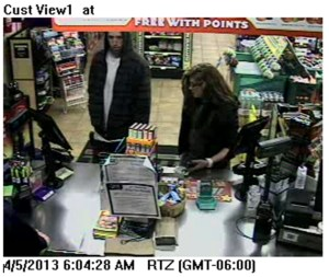 Male & Female Suspect at Cash Register (2)