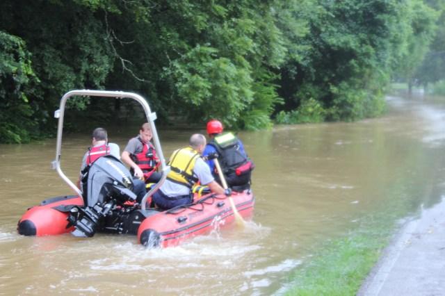 WEMA Boat Heading to Rescue 2 Individuals