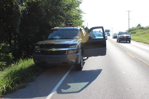 Pursuit Ends on Leeville Pike in Lebanon