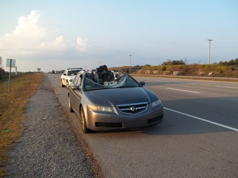 Vehicle Struck by Wheel 1