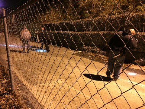 Mt. Juliet Police Investigators Search for Clues near SaveALot