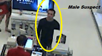 Case #15-20243, Freudulent Use of Credit Card, Male Suspect #3