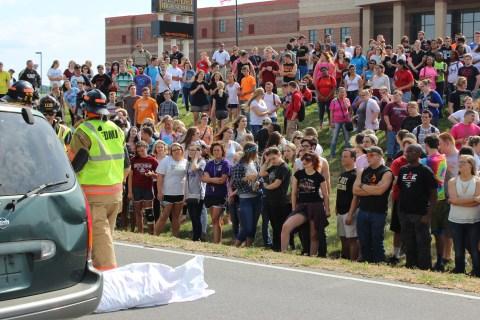 Photo of 2015 Mock Crash at MJHS