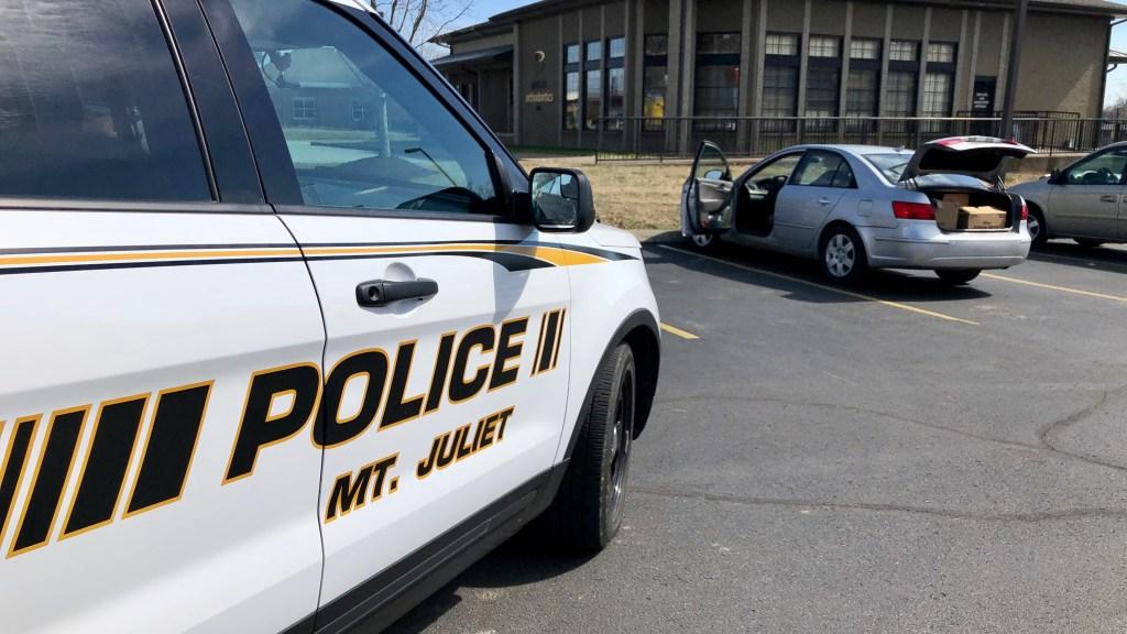 Stolen Car Stop Scene