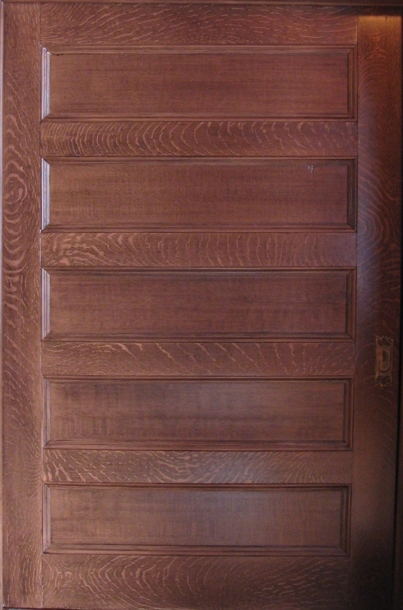 Faux Painted Wood Graining  MJP Studios