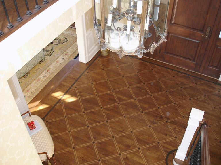 Faux Painted Stenciled Floors  MJP Studios