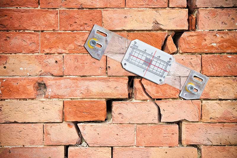 Civil Engineering underpinning subsidence repair