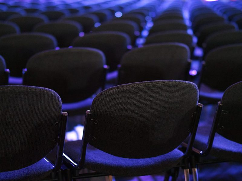 Conference hall chairs
