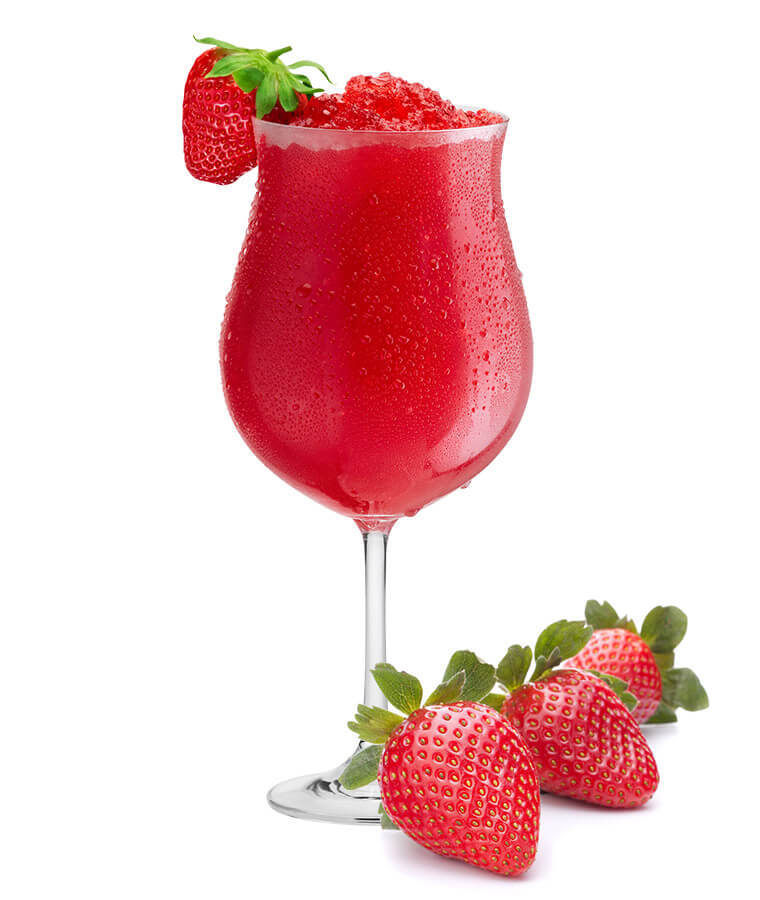 strawberry Daiquiri slush ice