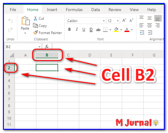 Cell Excel