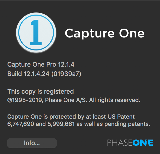 Capture One Editing Software