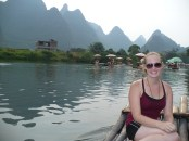 On the actual bamboo raft