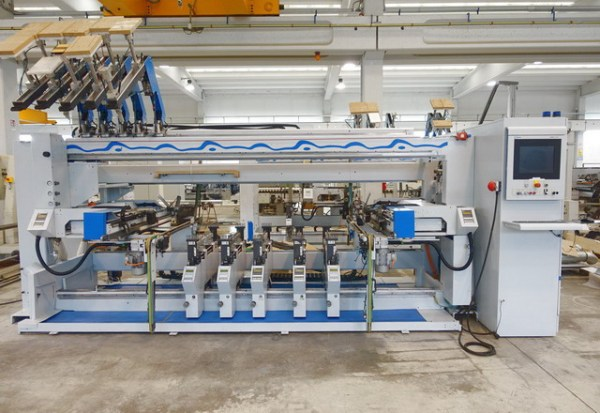 BST 500 / D Profiline Boring Machine by WEEKE (HOMAG Group)