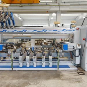 BST 500 / D Profiline Boring Machine by WEEKE (HOMAG Group)