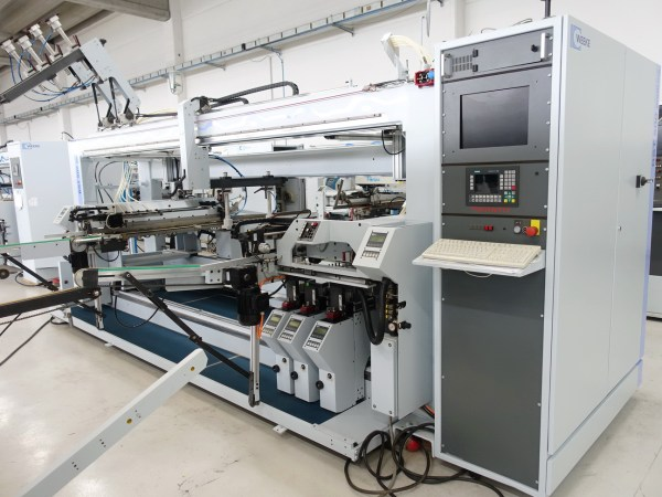 BST 500/D Boring Machine by WEEKE