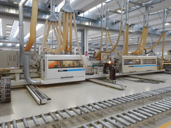 Major + Brush Combi Machine by STEFANI + MAHROS (SCM Group)