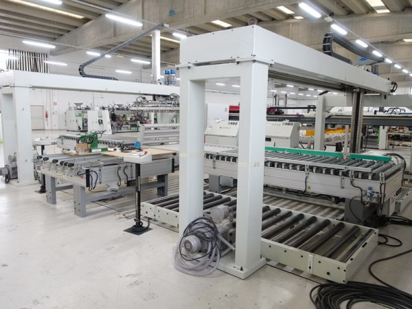 Selecta SC Stacker, Miscellaneous by RBO (BIESSE Group)