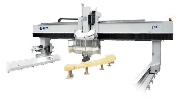 SCM pmt CNC Machine