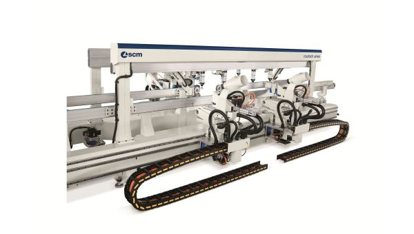 SCM routech aries CNC Machine