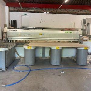 Used Biesse Selco Model EB-70L Beam Saw