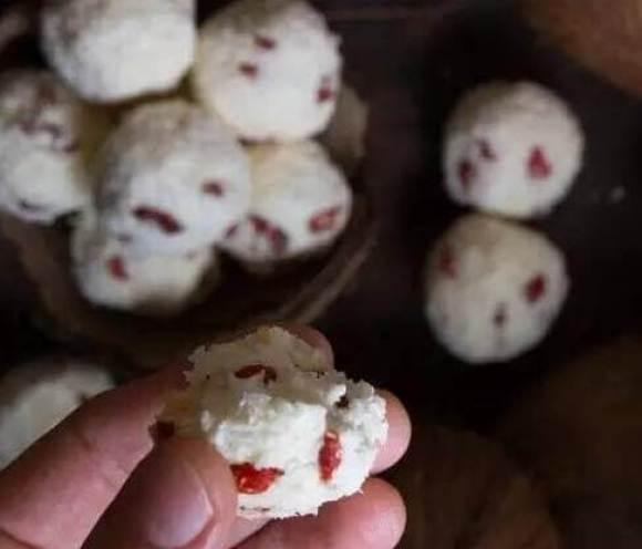 steamed Goji berries