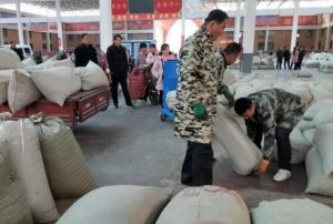 Take you into China goji trading market