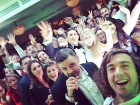 Mister Kanish wedding selfie