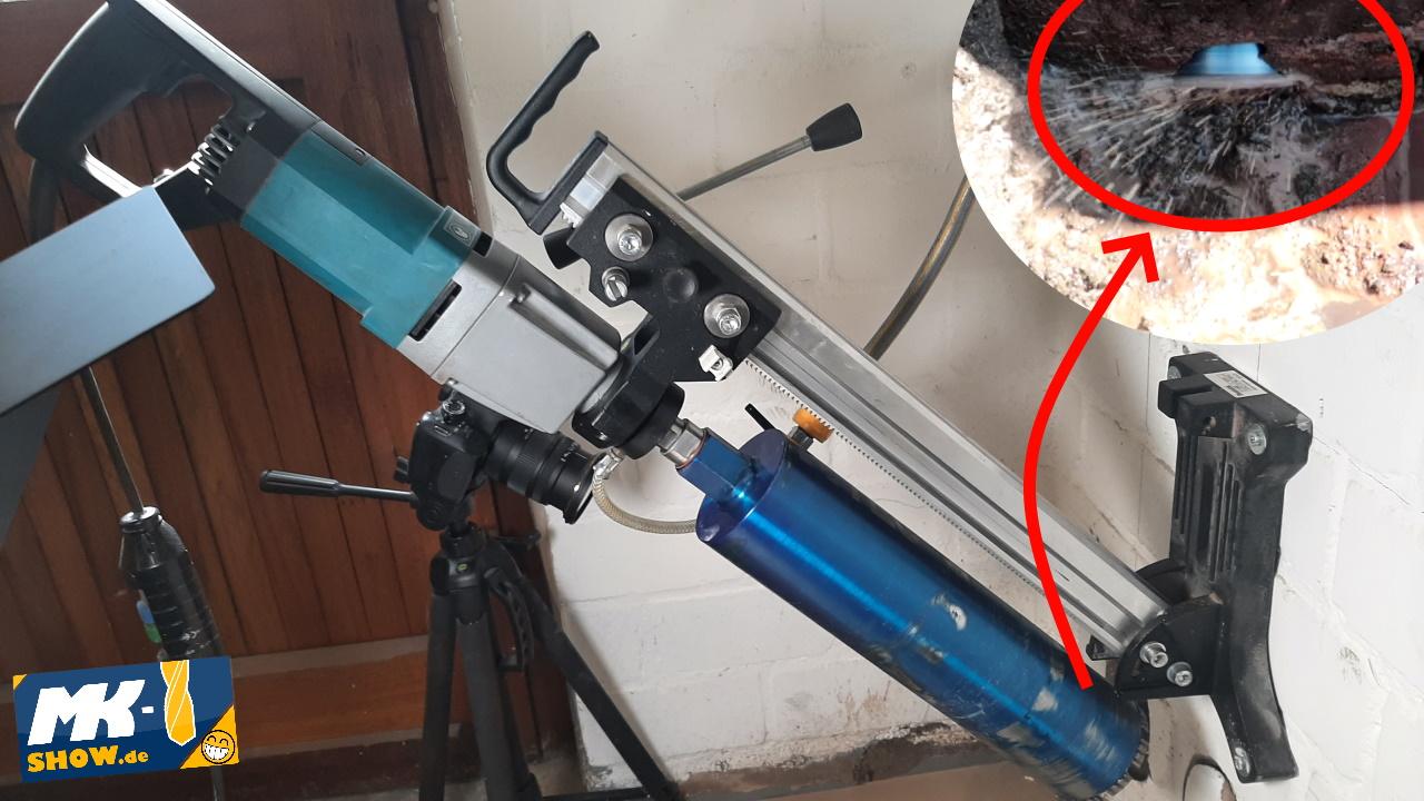 Read more about the article Makita DBM 131 – Zwei 112mm Kernbohrung 45° für Gartenbeleuchtung