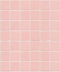 Pink Tiles Wallpaper • Realistic Tile Effect Wallpaper • Milton & King