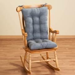 2 Pc Rocking Chair Cushions Eames Replica Lounge Twillo Cushion Set