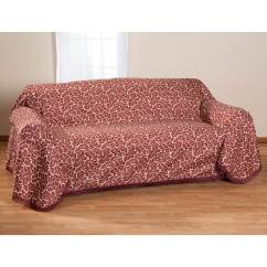 Damask Sofa Bed Intex Inflatable Pull Out Queen Mattress Sleeper Ii Slipcover Miles Kimball