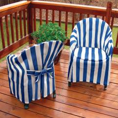 Chair Covers For Garden Furniture Stool Thailand Outdoor Miles Kimball Striped Patio Cover With Cushion 348757