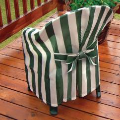 Patio Chair Slipcovers Building A Striped Cover With Cushion Chairs