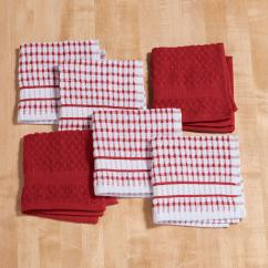 Terry Kitchen Towels Paint Color For Dish Cloths Set Of 6 Cotton Miles Kimball