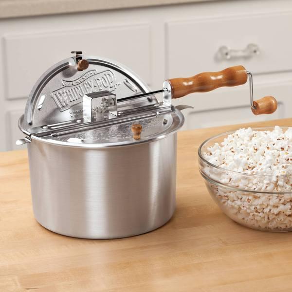 Whirley-pop Stovetop Popcorn Popper - Pot Miles Kimball