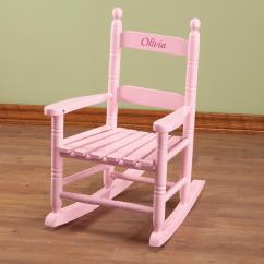 Personalized Rocking Chair For Toddlers Barber Repair Pink Children 39s Rocker