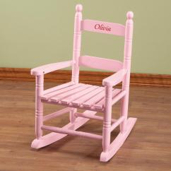 Personalized Childrens Chair Canada Fabric Patio Covers Pink Children 39s Rocker Rocking