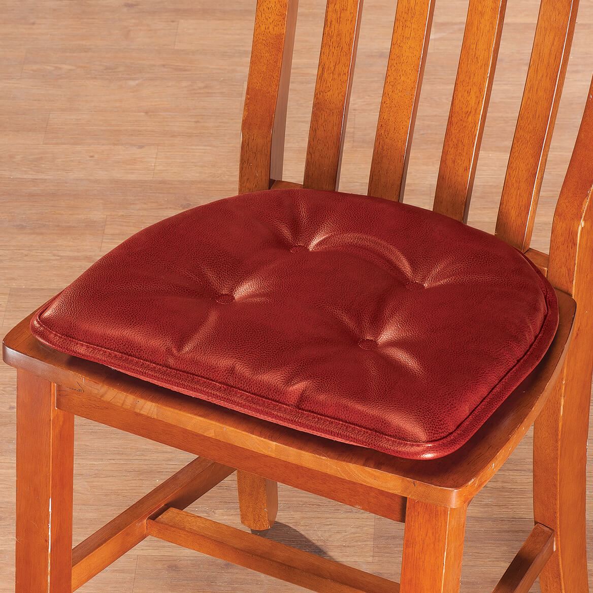 faux leather gripper chair cushions swing afterpay st germaine pad w