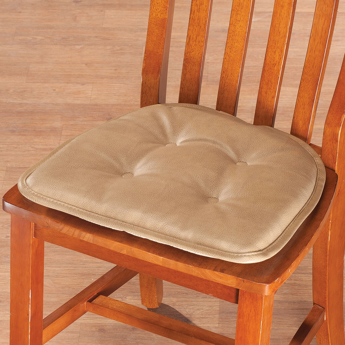 faux leather gripper chair cushions raz shower st germaine pad w