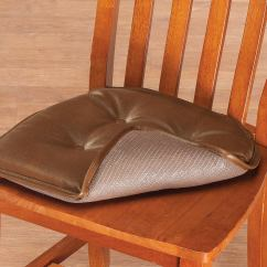 Faux Leather Gripper Chair Cushions Wooden Folding Chairs Target St Germaine Pad W
