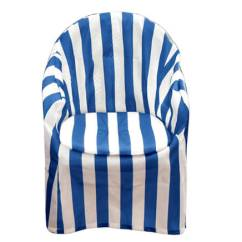 Chair Covers For Garden Furniture Louis Ghost Chairs Outdoor Miles Kimball Striped Patio Cover With Cushion 348757