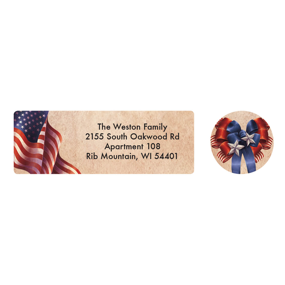 personalized patriotic blessings address