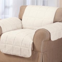 Chair Covers Ebay Uk Costco Outdoor Chairs Waterproof Quilted Sherpa Cover By Oakridgetm
