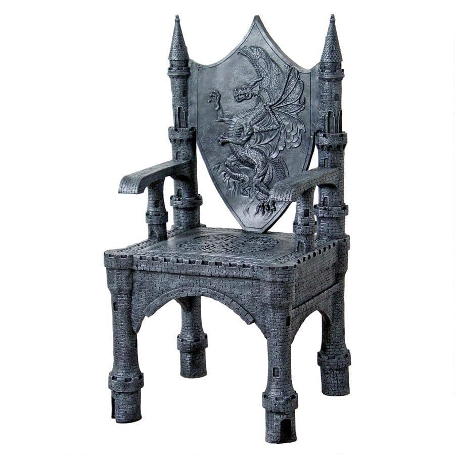 Dragon Chair The Dragon Of Upminster Castle Throne Chair