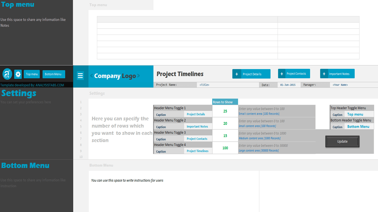 Project Timeline; Project Timeline