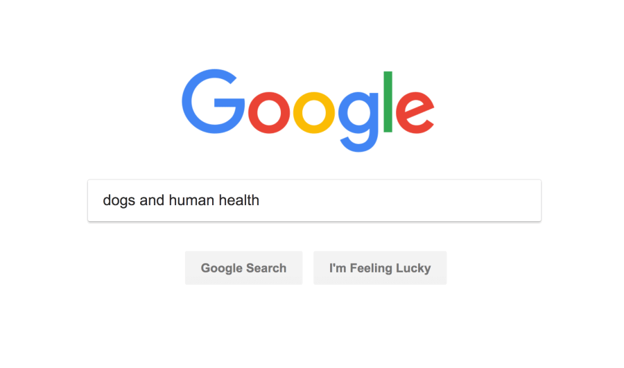 """""""dogs and human health"""" search"""