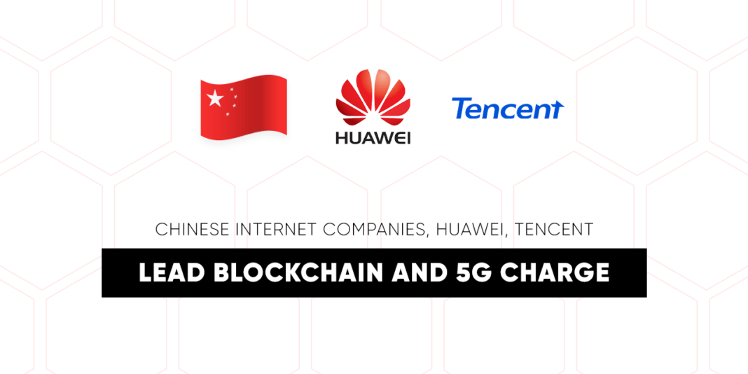 Chinese Internet Companies, Huawei, Tencent Lead
