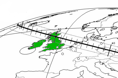 Alert: Scotland favoured for asteroid occultation of
