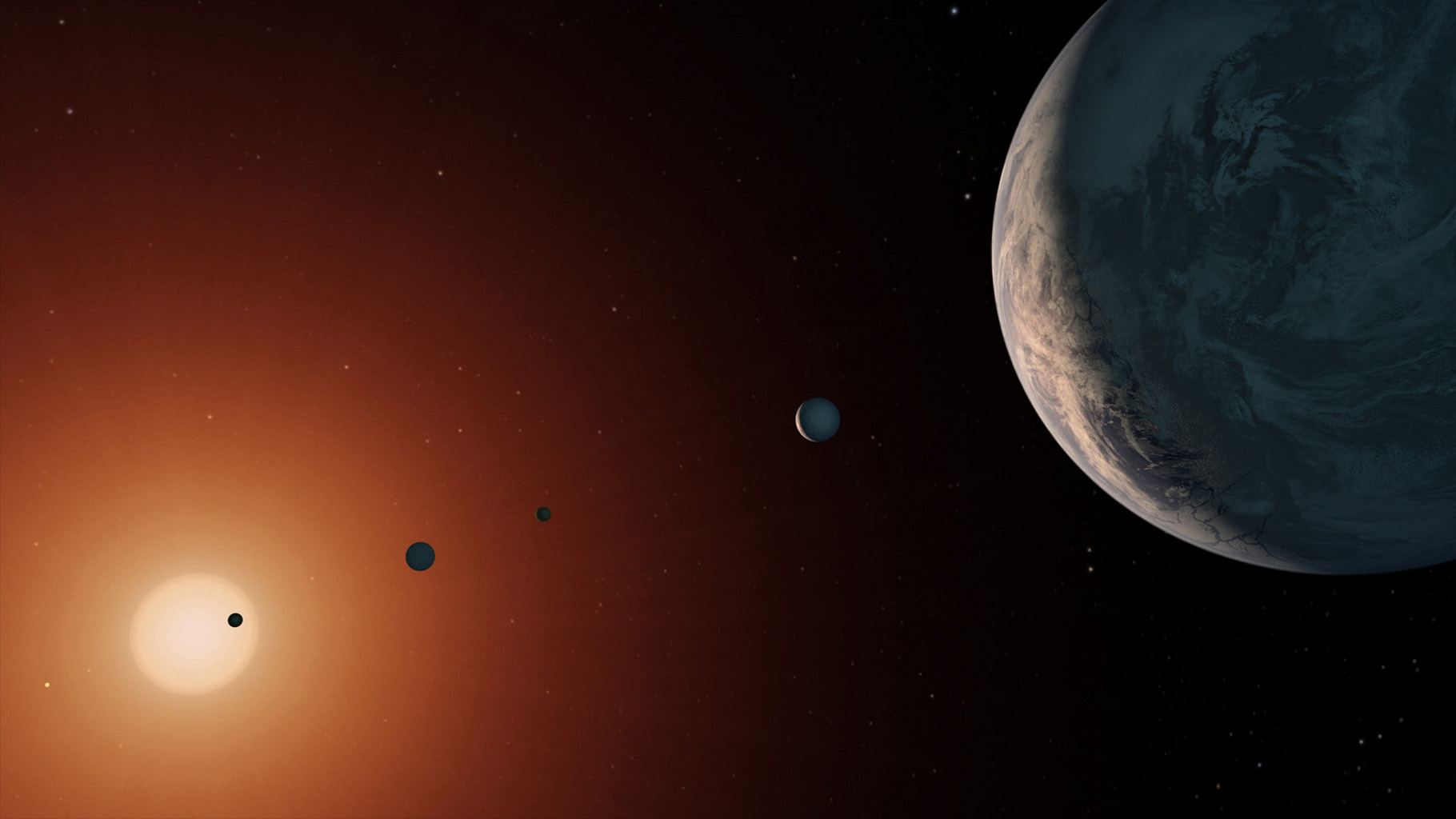 trappist 1 is older
